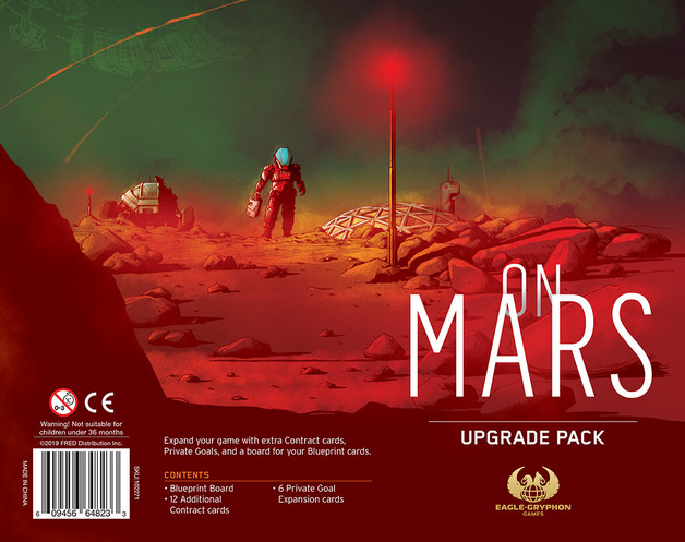 On Mars: Upgrade Pack - Expansion