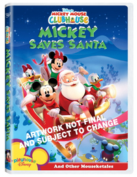Mickey Mouse Clubhouse - Mickey Saves Santa And Other Mouseketales on DVD image