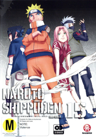 Naruto Shippuden Collection 15 (Eps 180-192) on DVD