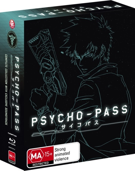 Psycho-Pass - Complete Collection (Limited Edition) on Blu-ray