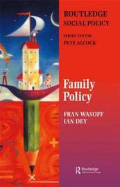 Family Policy by Fran Wasoff image