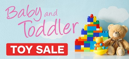 Baby & Toddler Toy Sale!