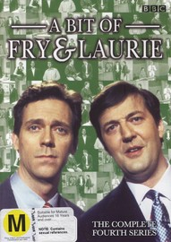 Bit Of Fry & Laurie, A - Complete Season 4 (2 Disc Set) on DVD