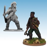 Frostgrave Ghost Archipelago: Tomb Robber & Scout