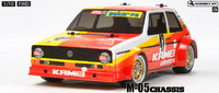 Tamiya: 1/10 Volkswagen Golf Mk.1 (M-05 Chassis) - RC Model Kit