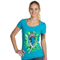 Overwatch Is This Easy Mode Women's Scoop Neck (XL)