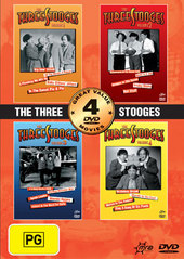 Three Stooges Collection, The 4 pack (2 Disc) on DVD