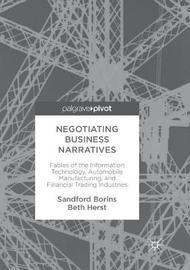 Negotiating Business Narratives by Sandford Borins
