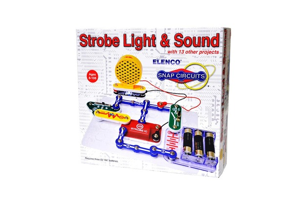Snap Circuits: Mini Kit Strobe Light & Sound