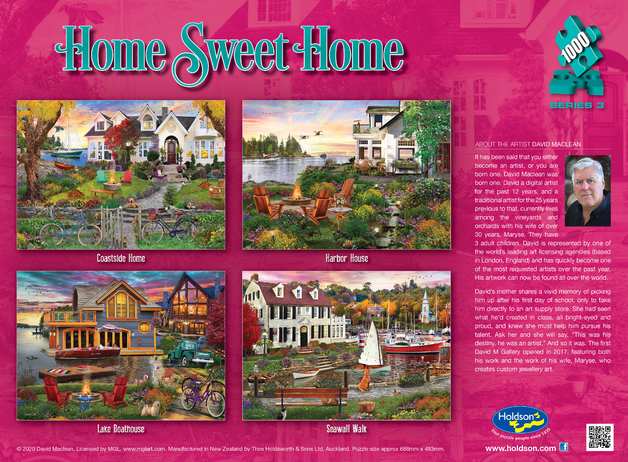 Holdson: 1000 Piece Puzzle - Home Sweet Home S3 (Complete Set)