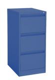 Proceed Lockable Filing Cabinet 3 Drawer - Dusk Blue