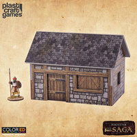 ColorED Scenery: Medieval Dwelling