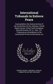 International Tribunals to Enforce Peace image