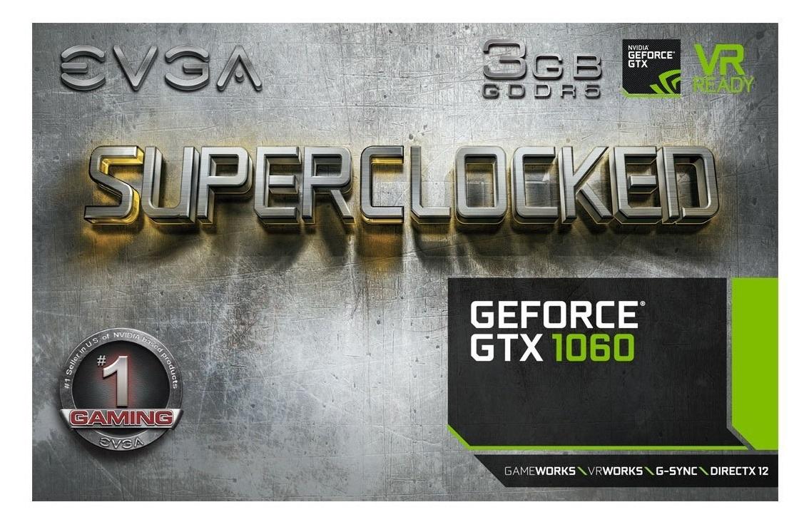 EVGA GeForce GTX 1060 3GB OC GPU