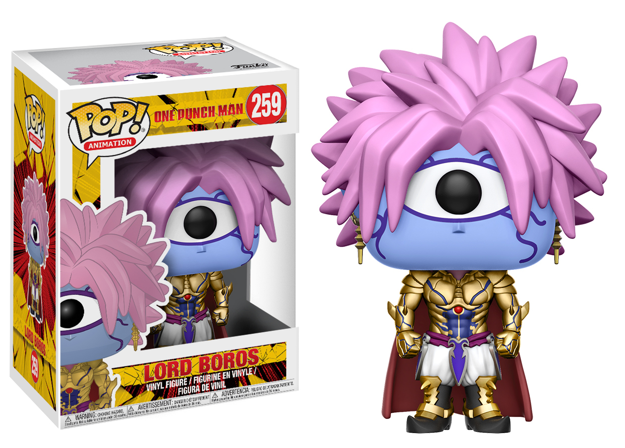 One Punch Man - Lord Boros Pop! Vinyl Figure image