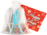 Bo-Po Scented Peel-Off Nail Colour: Holiday Pack - White Bag (3 Polish)