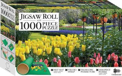 Hinkler: Jigsaw Roll with 1000-Piece Puzzle - Springtime Tulips image