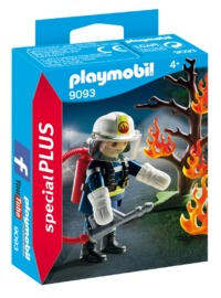 Playmobil: Special Plus - Firefighter with Tree (9093)