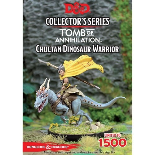 Dungeons & Dragons: Tomb of Annihilation: Chultan Dinosaur Warrior