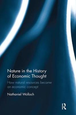 Nature in the History of Economic Thought by Nathaniel Wolloch image