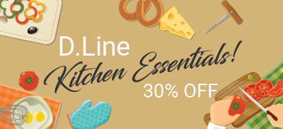 30% off D.Line Kitchen Essentials!