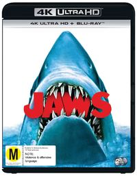 Jaws on UHD Blu-ray image