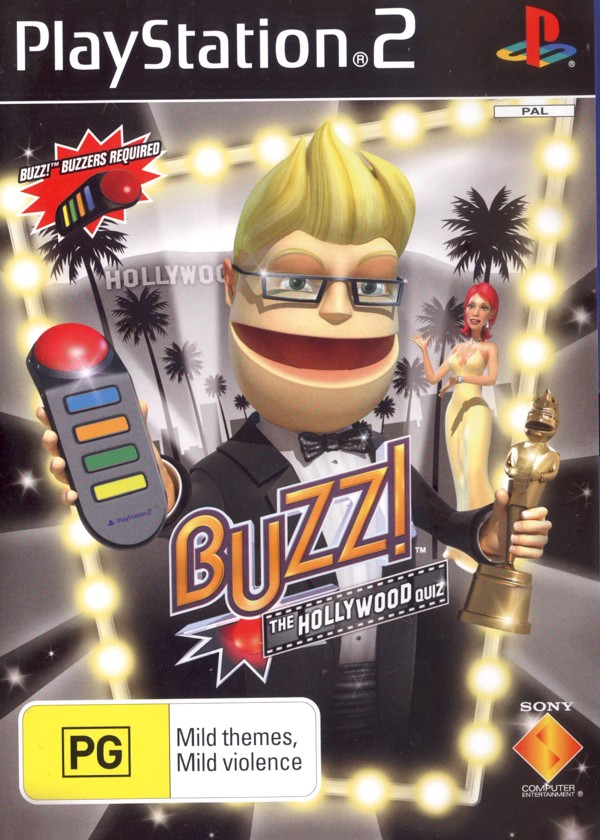 Buzz! Hollywood (game only) for PlayStation 2 image