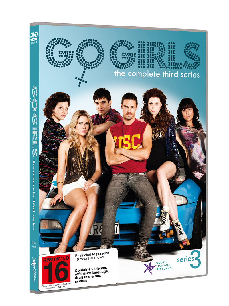 Go Girls - Season 3 on DVD image