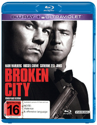 Broken City on Blu-ray, UV