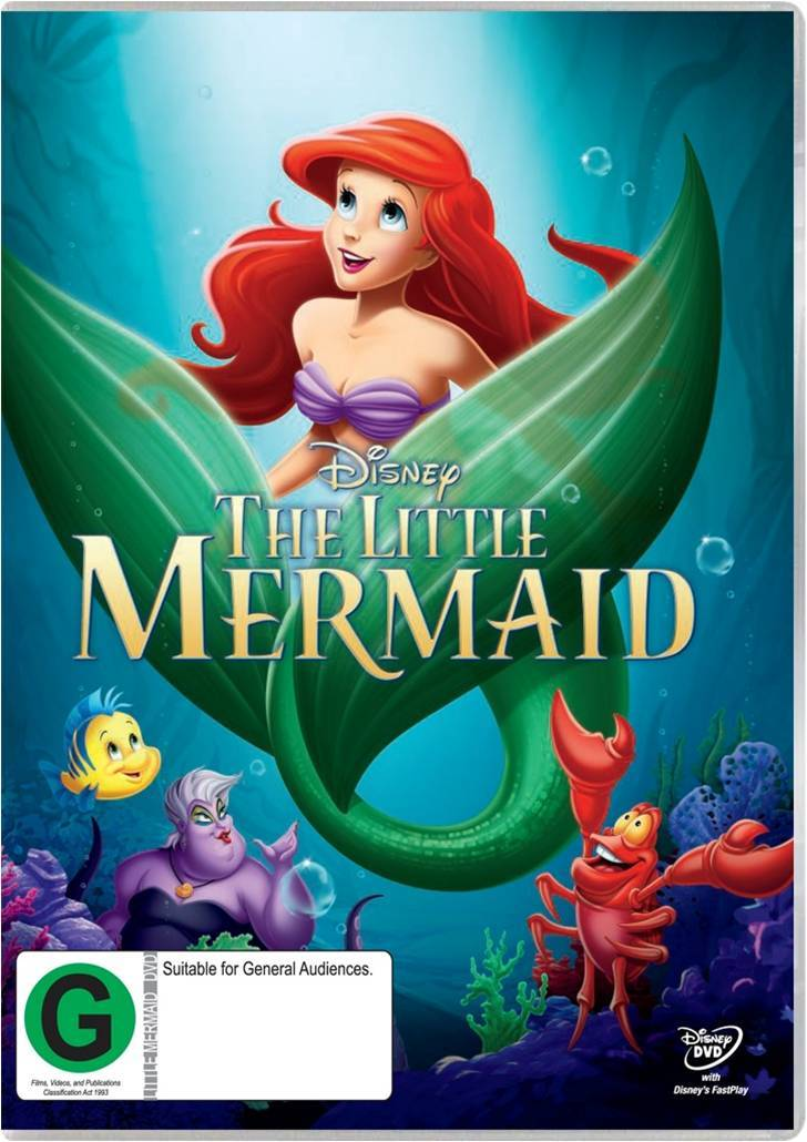 The Little Mermaid on DVD image