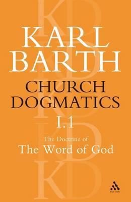Church Dogmatics Classic Nip I.1 by Barth