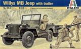 Italeri: 1:35 Jeep Cross Country - Model Kit