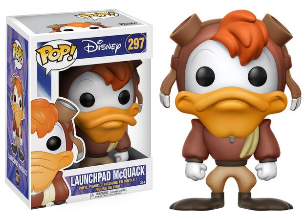 Darkwing Duck - Launchpad McQuack Pop! Vinyl Figure