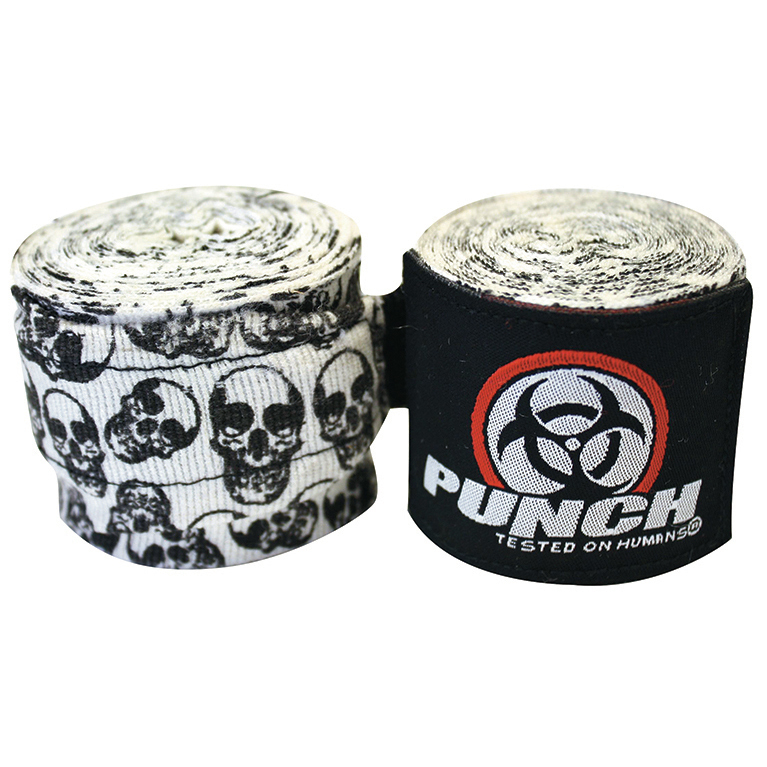Punch: Urban Hand Wraps - 400cm (Skull) image