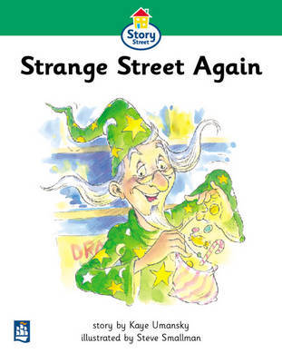 Strange Street Again Story Street Beginner stage step 3 Storybook 24 by Kaye Umansky