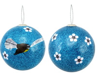 Antics: Christmas Decoration - Blue Fantail image