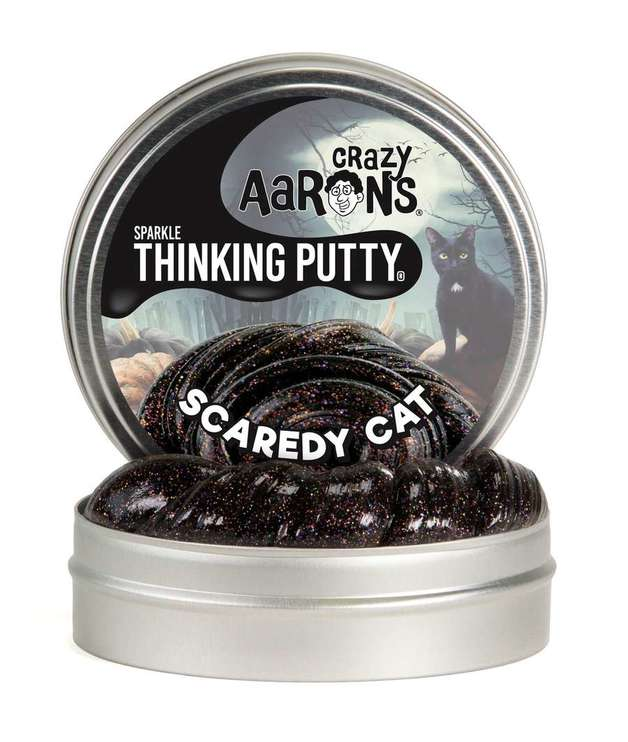 Crazy Aaron's Thinking Putty: Halloween Putty - Scaredy Cat