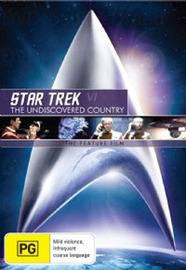 Star Trek VI - The Undiscovered Country on DVD image
