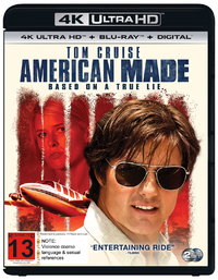 American Made on UHD Blu-ray