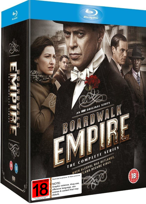 Boardwalk Empire - The Complete Seasons 1 - 5 on Blu-ray