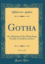 Gotha, Vol. 1 of 2 by Unknown Author image