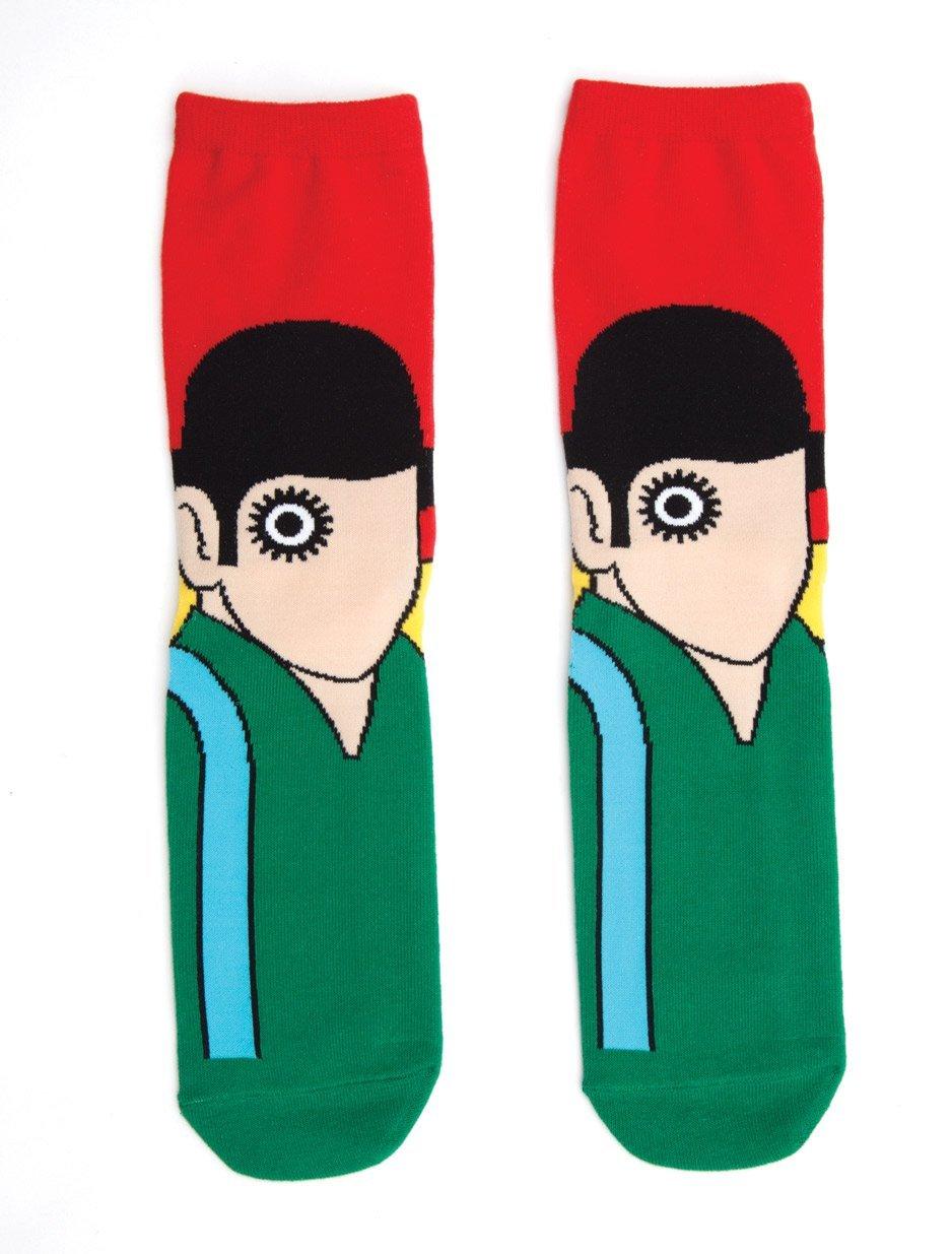 Out of Print: Clockwork Orange - Men's Crew Socks image