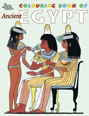 British Museum Colouring Book of Ancient Egypt by Richard Parkinson image