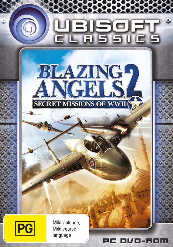 Blazing Angels 2: Secret Missions of World War II (Ubisoft Classics) for PC Games