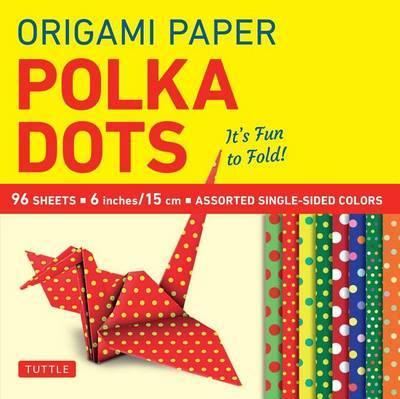 """Origami Paper - Polka Dots 6"""" - 96 Sheets"""