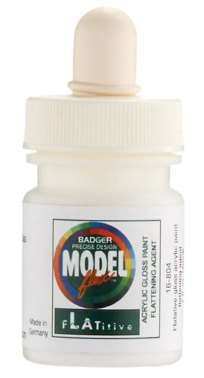 Badger: Flatitive Gloss Acrylic Paint Flattening Agent - (30ml)
