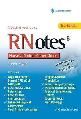 RNotes Nurse's Clinical Pocket Guide by Ehren Myers image