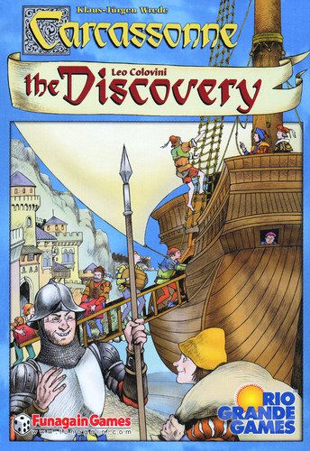 Carcassonne - The Discovery Game image