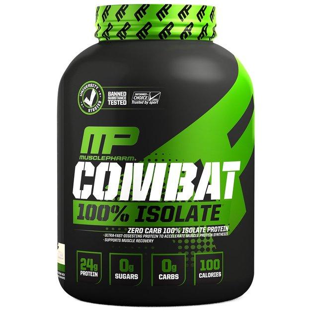 MusclePharm: Combat Sport 100% Isolate - Vanilla (2.27Kg)