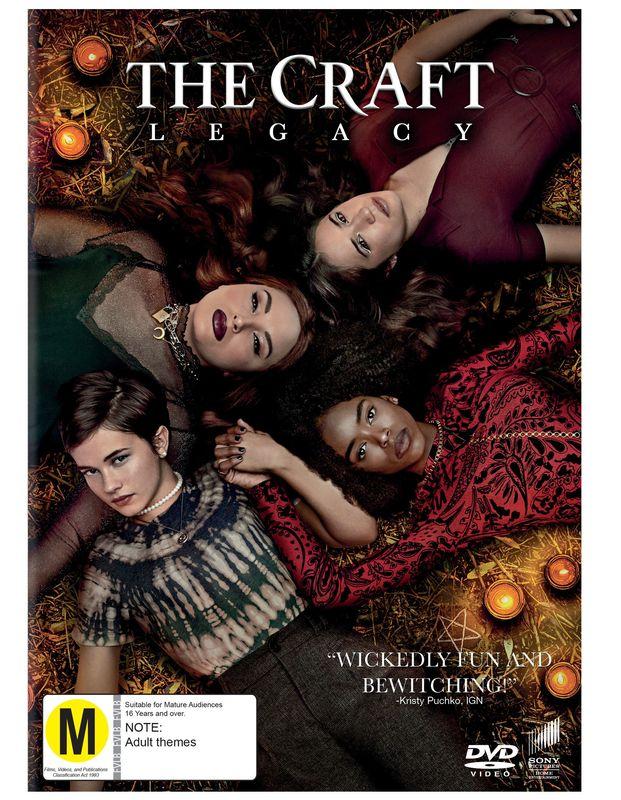 TheCraft:Legacy on DVD